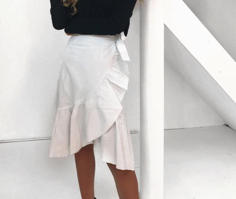 Mella nederdel