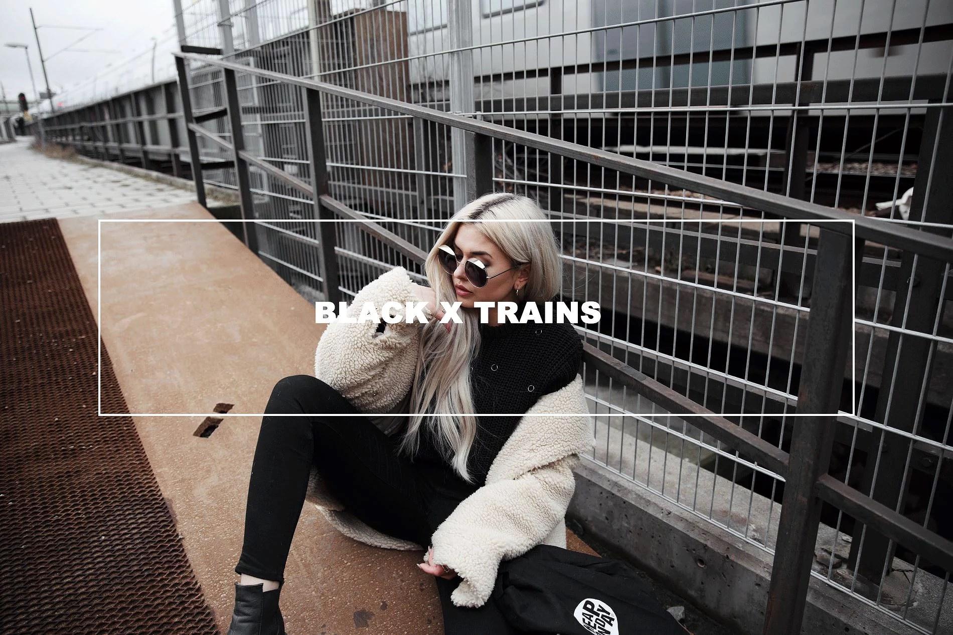 black x trains