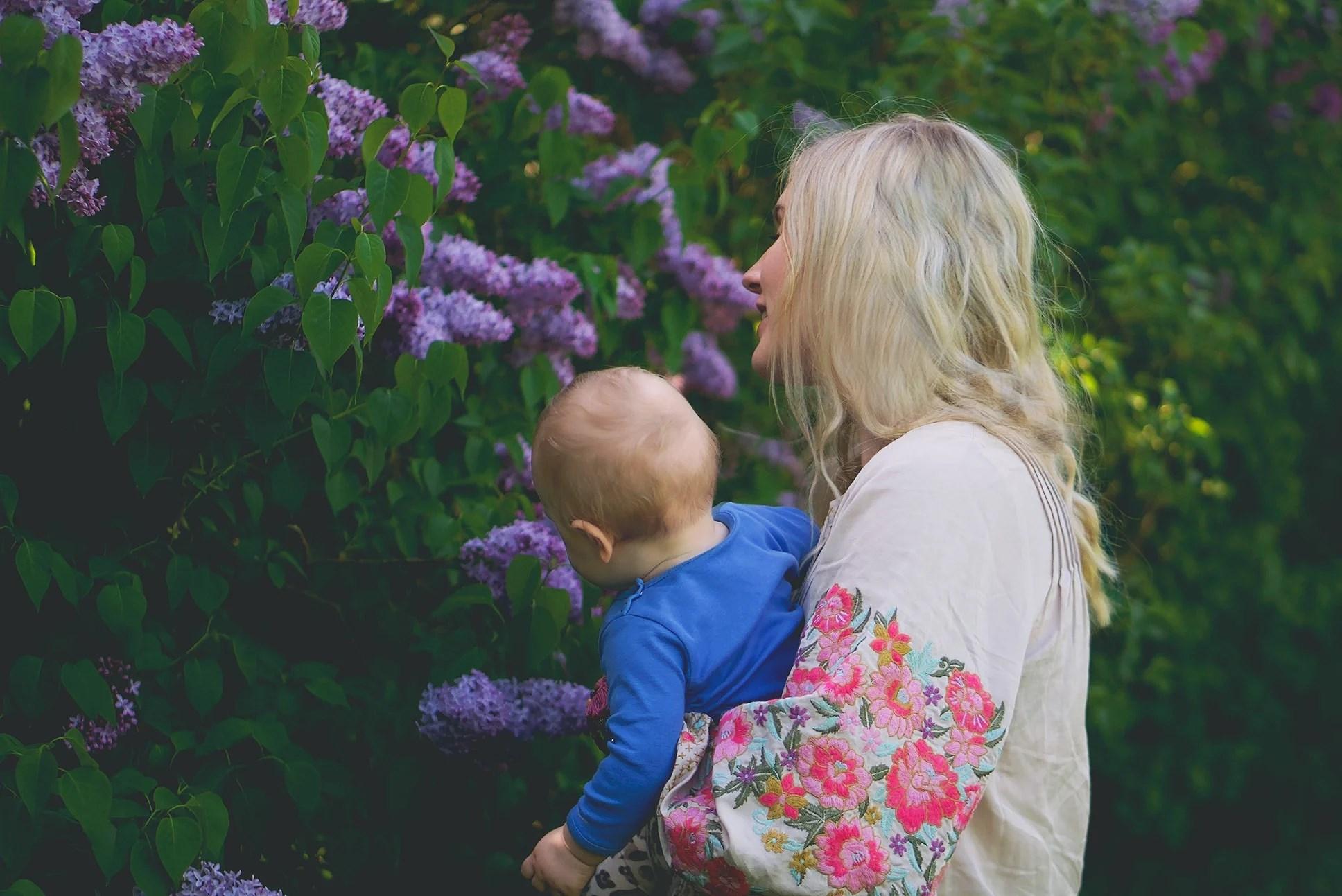 Mother's Day Lilacs & Environmentally Friendly Fabrics