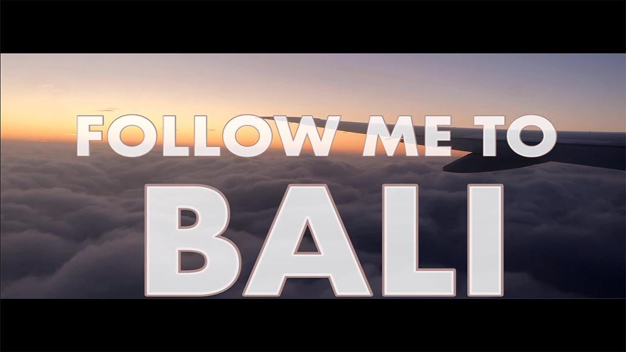 NY VIDEO!! FOLLOW ME TO BALI!