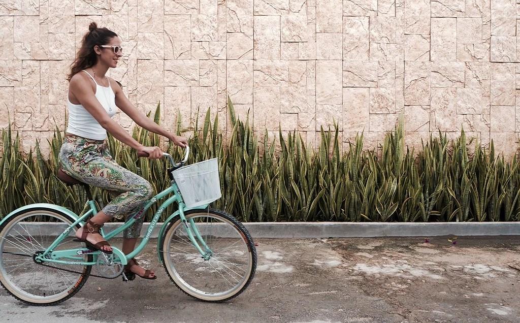 bicicleta en tulum
