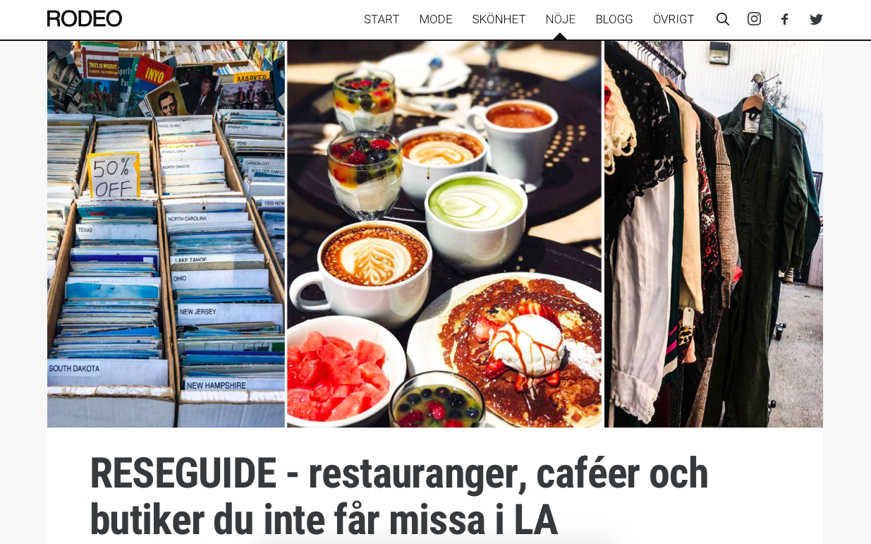 LOS ANGELES GUIDE - RODEO MAGAZINE