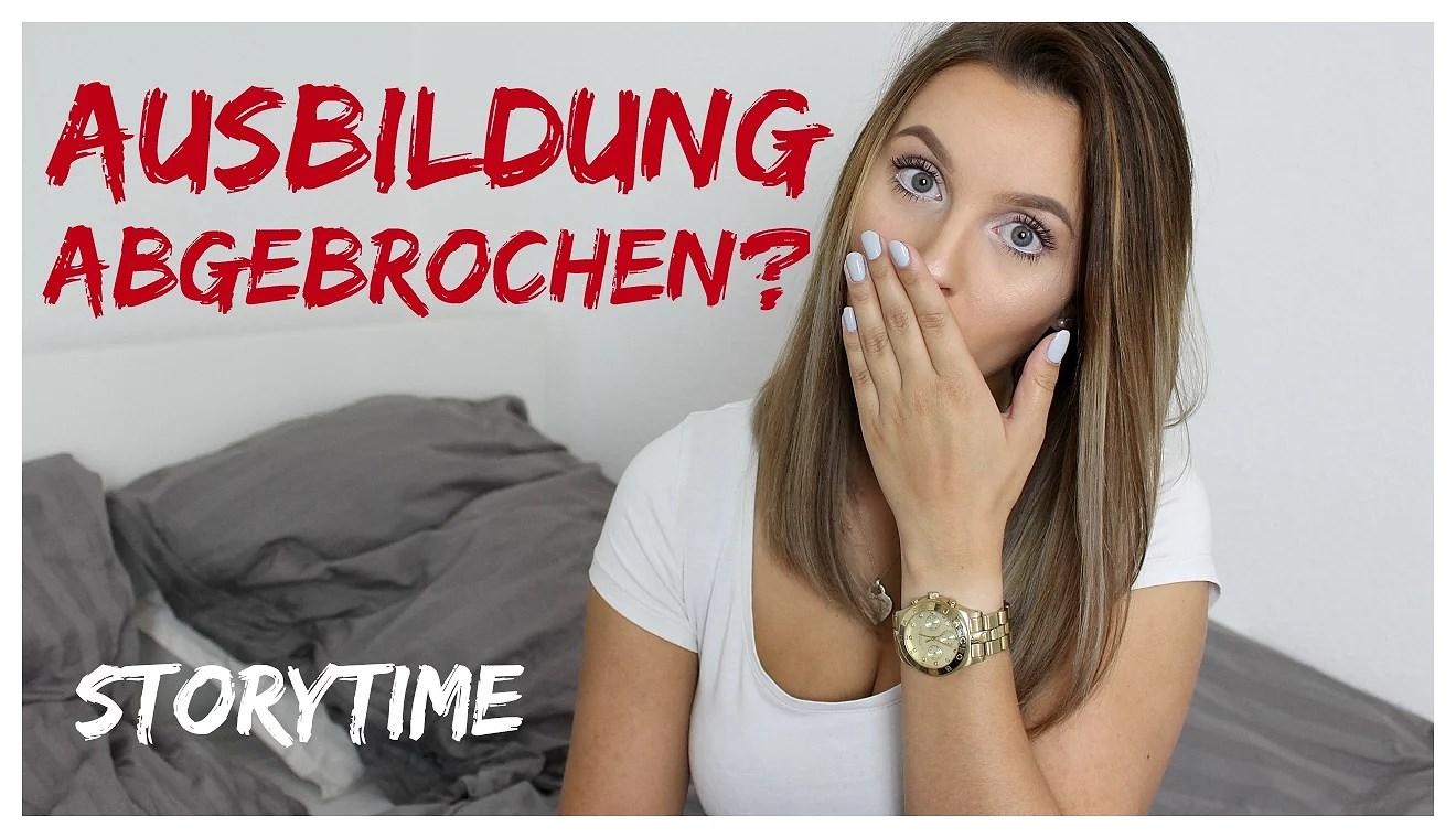 AUSBILDUNG ABGEBROCHEN? – STORYTIME VIDEO