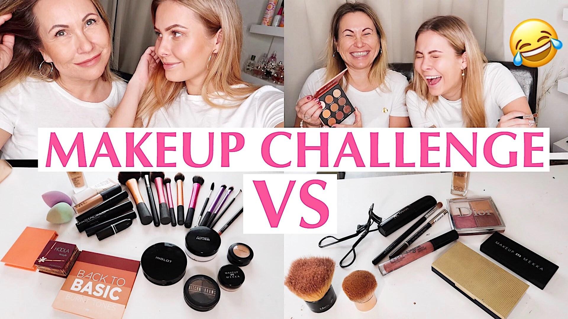 VIDEO - MAKEUP CHALLENGE