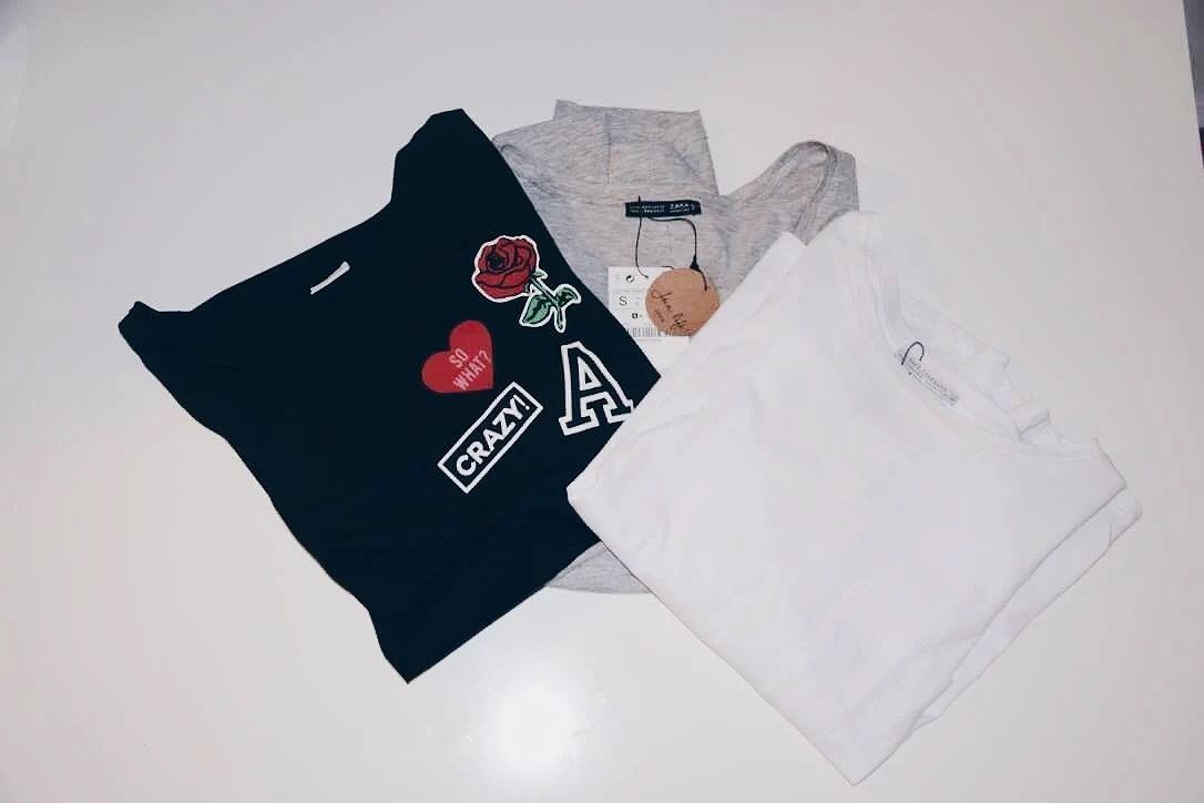 Three new T-shirts