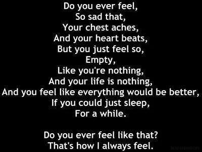 När ångesten talar.