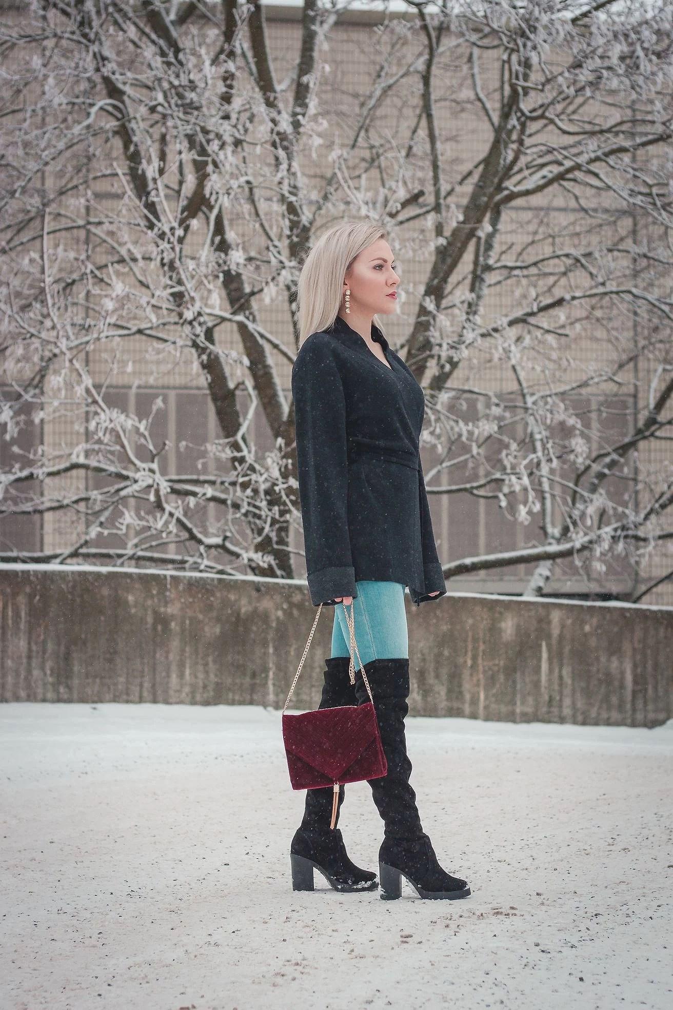 Overknee Boots Valeria Simonova