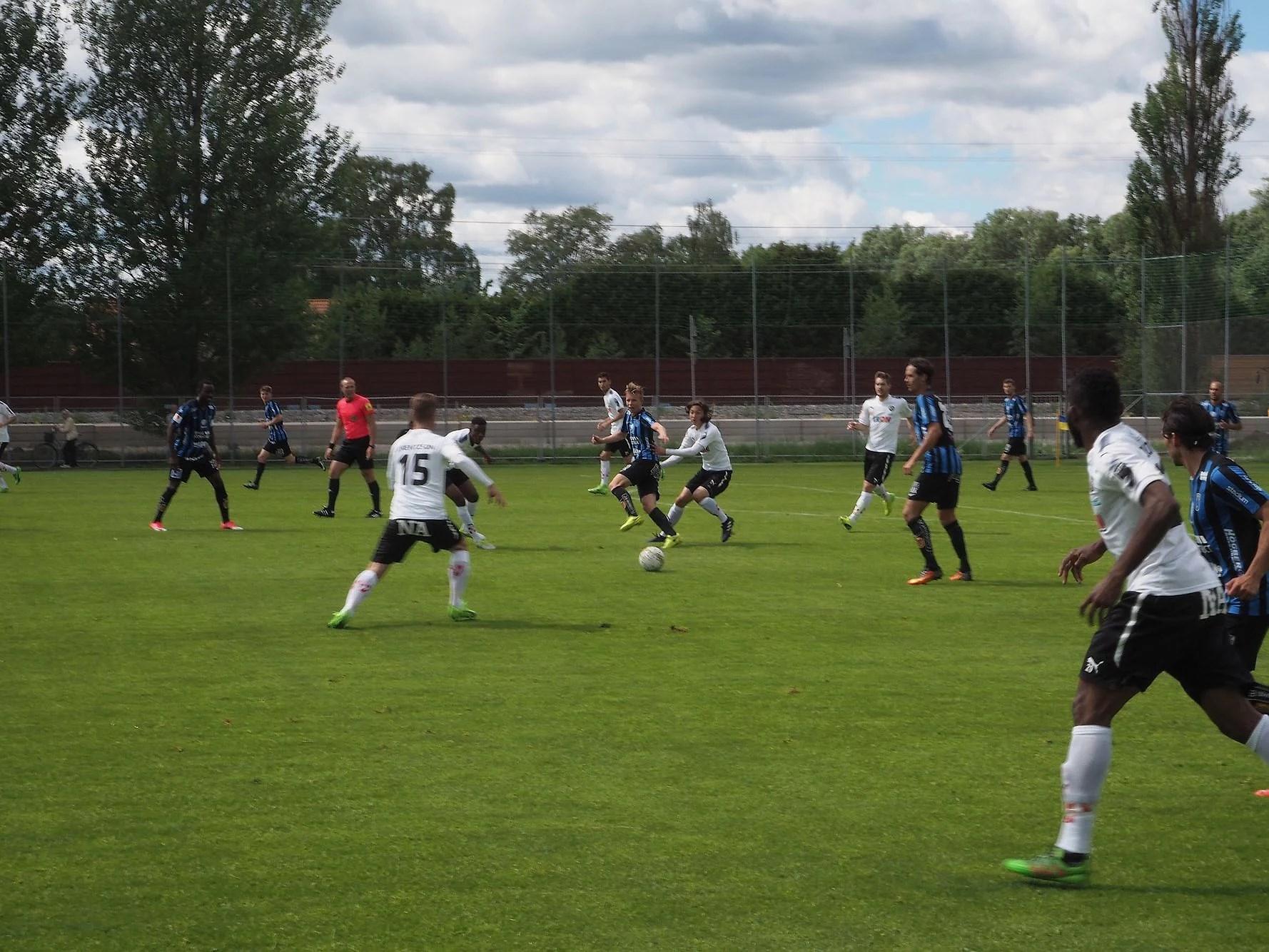 Träningsmatch mot ÖSK