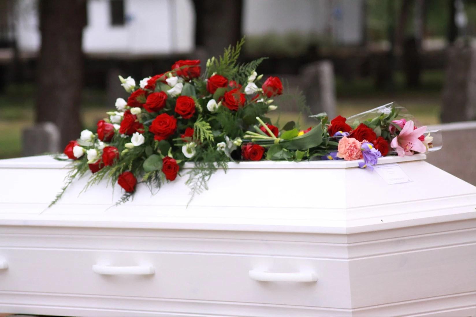 Begravningen idag