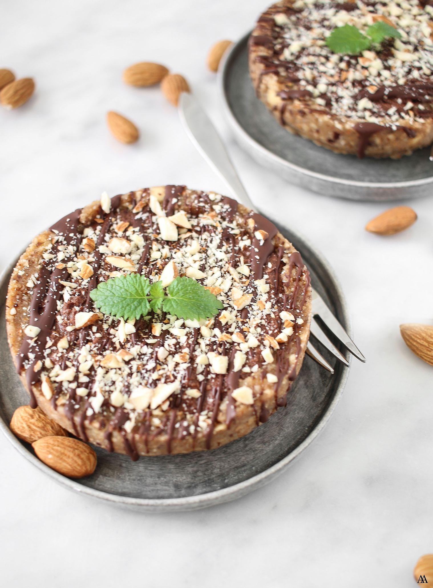 Raw Mandelcheesecake