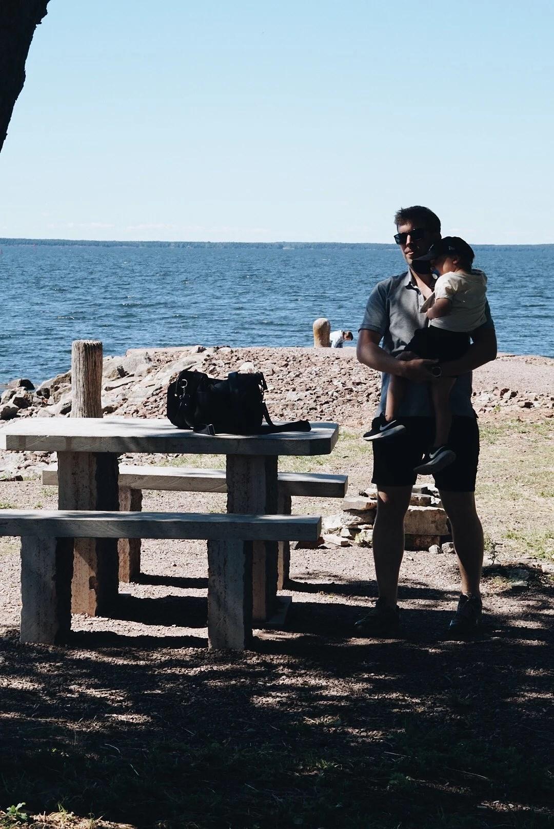 Korvgrillning i Råbäck
