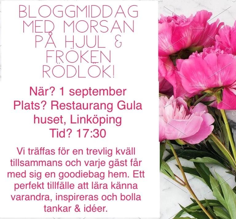 Bloggevent - Anmälan är öppen!