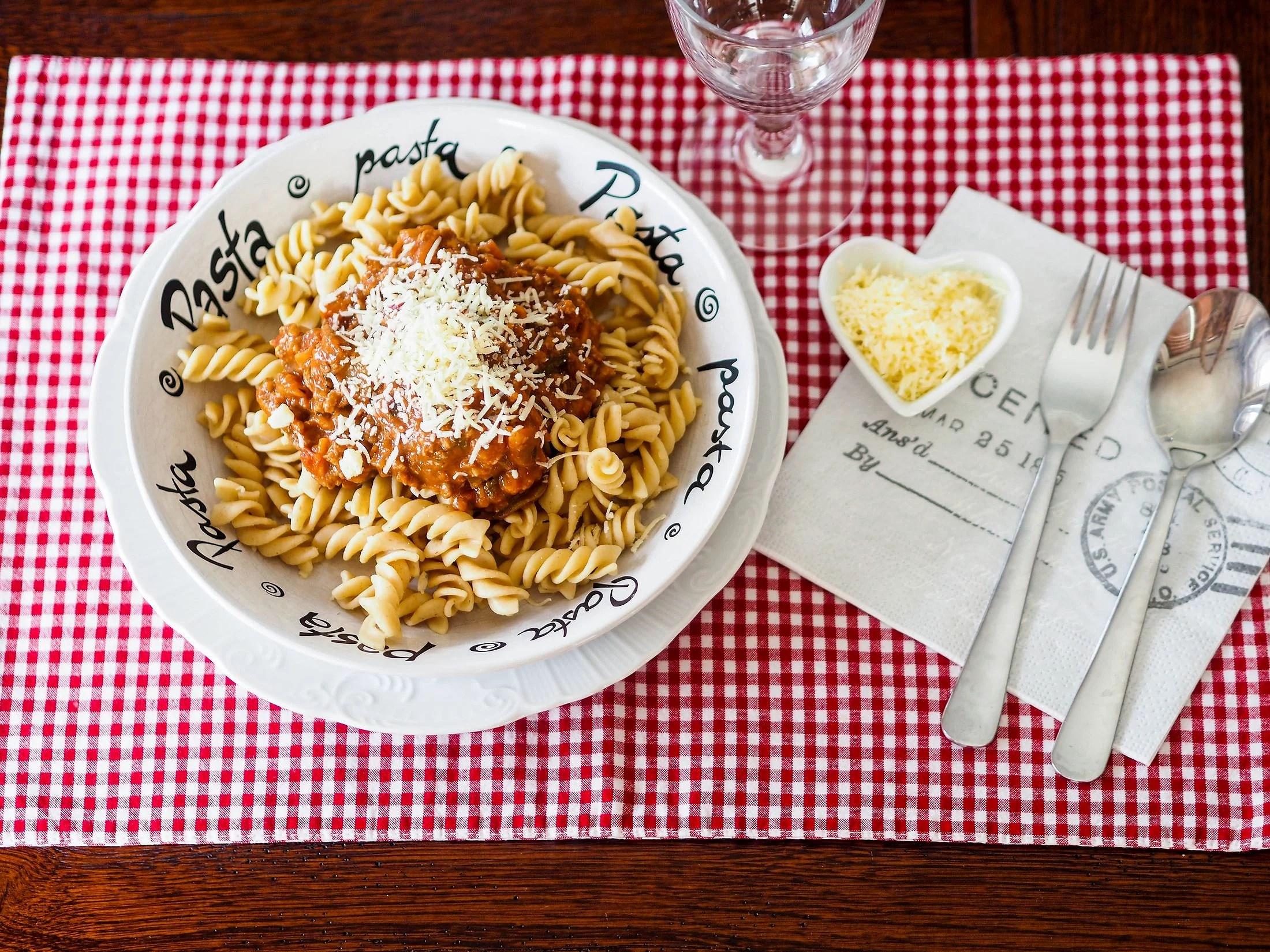 mammas pasta bolognes
