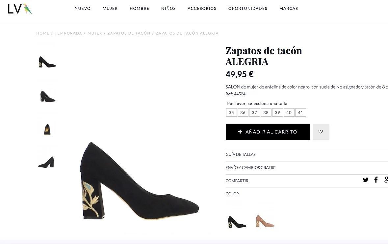Calzado Vogue&Lv