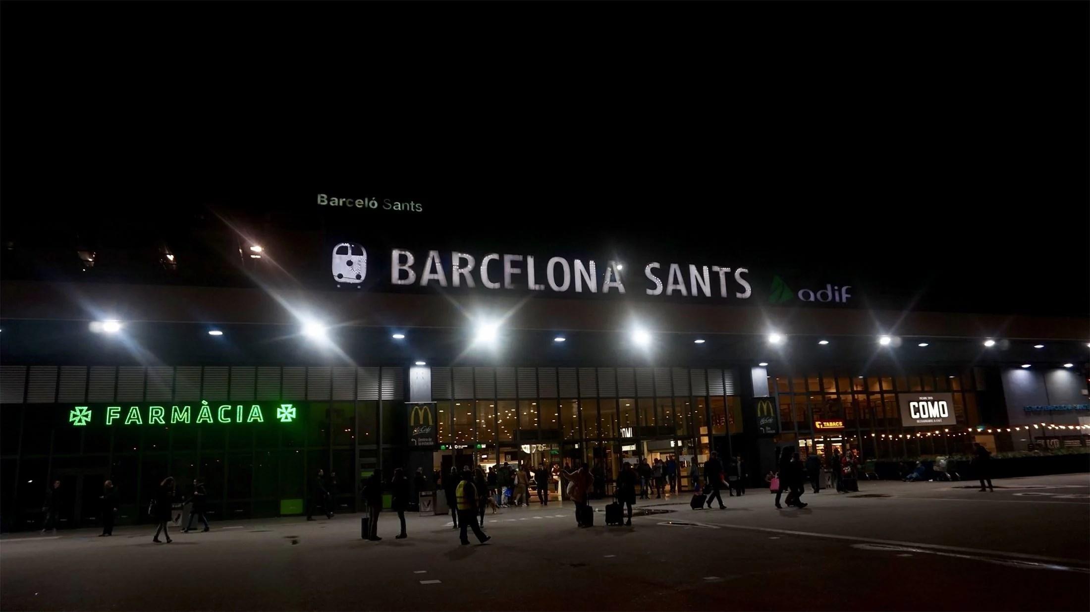 Renfe Barcelona Sants