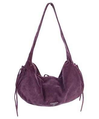 Purple suede PRADA under $250 affordable
