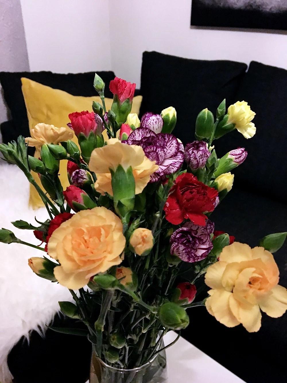 Begravelses blomstene mine...