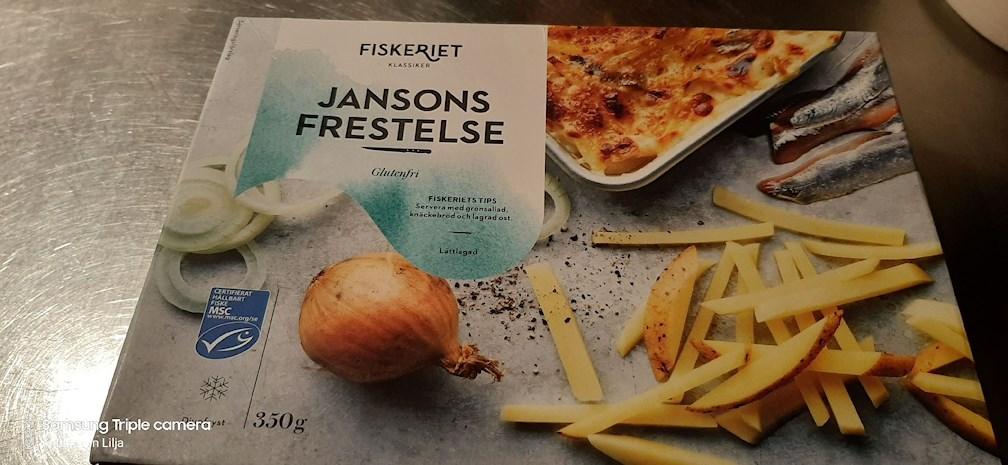 Glutenfri Janssons Frestelse