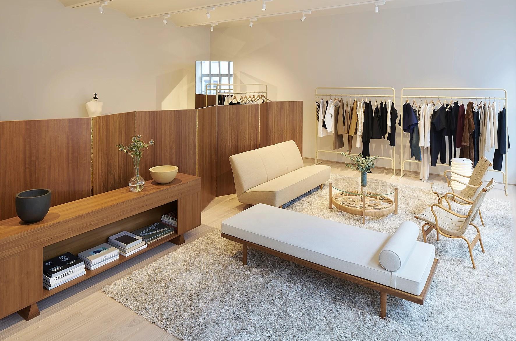 Totême's new showroom