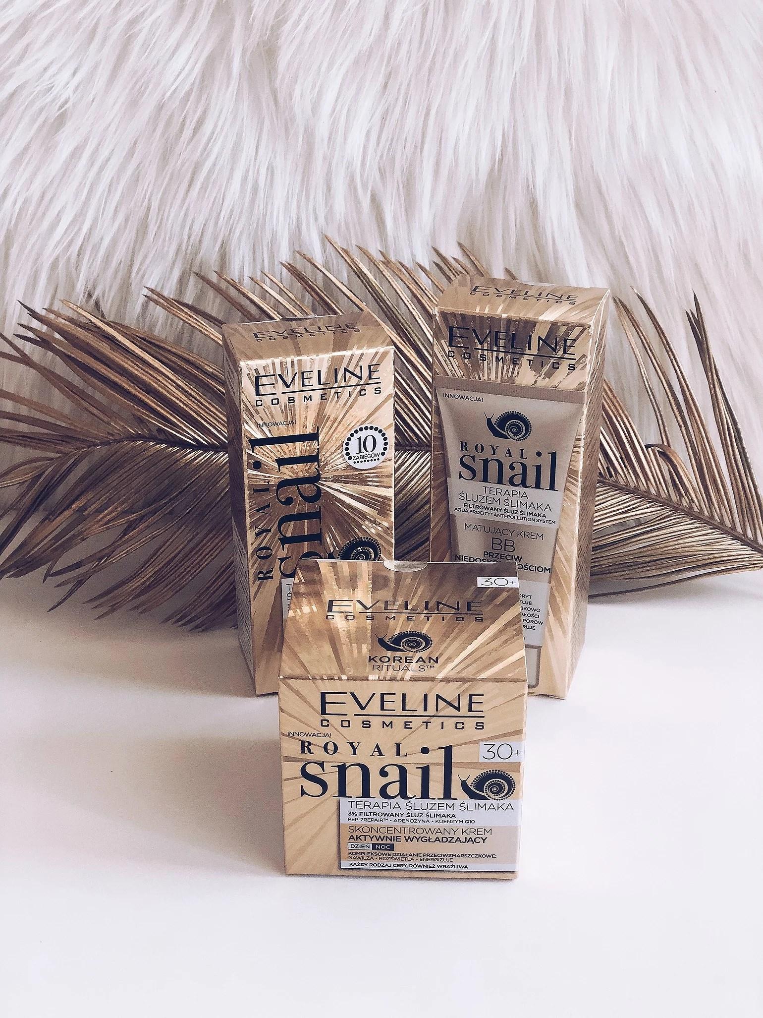 Nowa seria Royal Snail od Eveline
