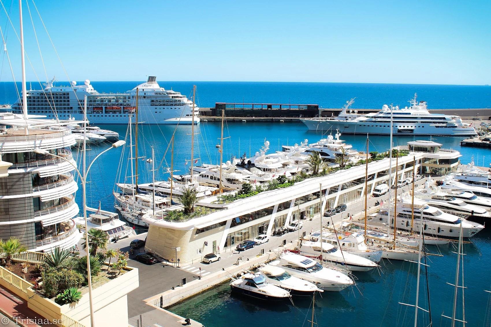 Boats everywhere - Monaco