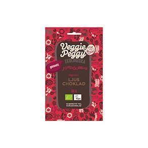 veggie peggy chokladdoppade jordgubbar
