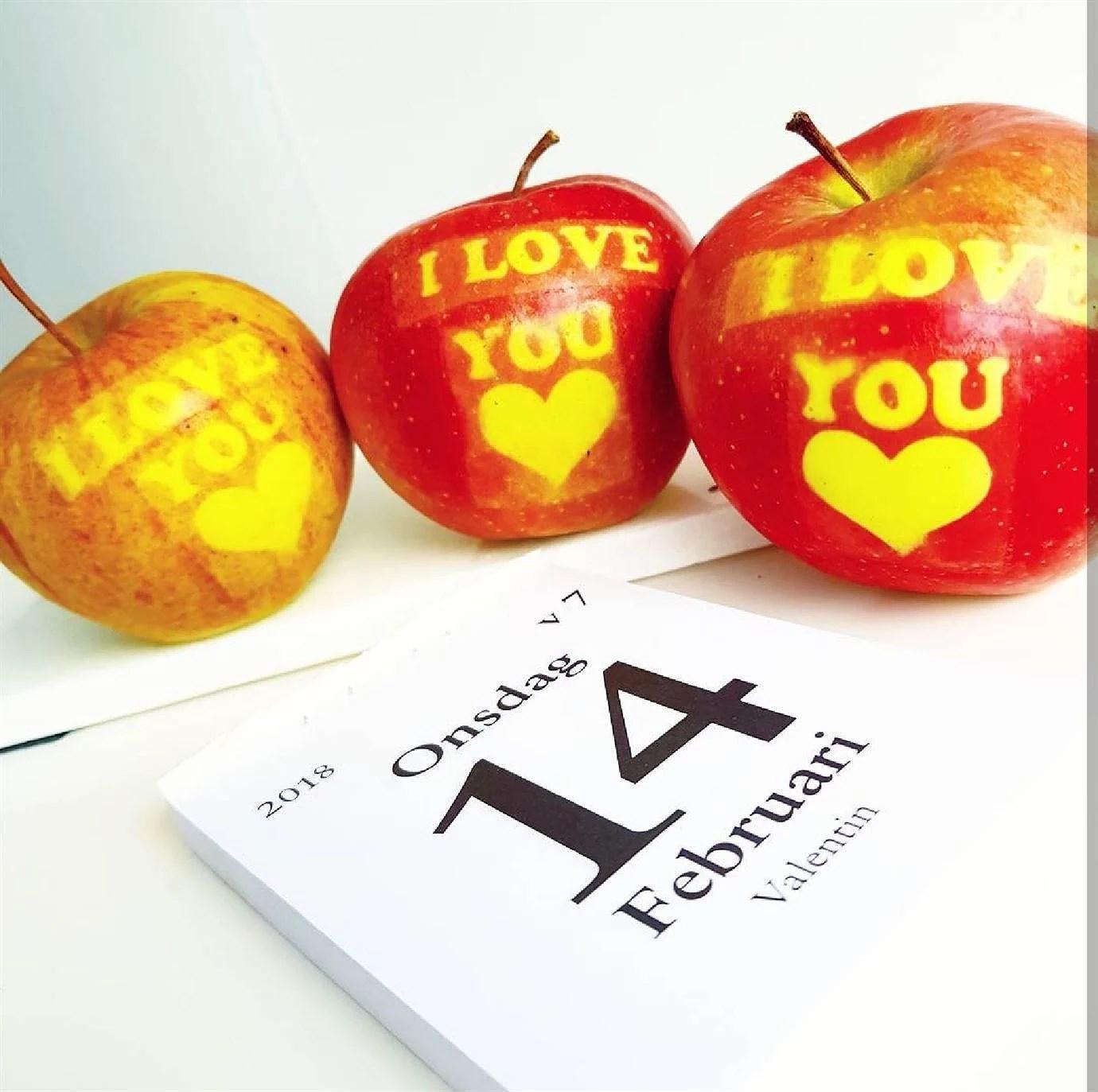 Alla Hjärtans Dag + billiga kärleksäpplen