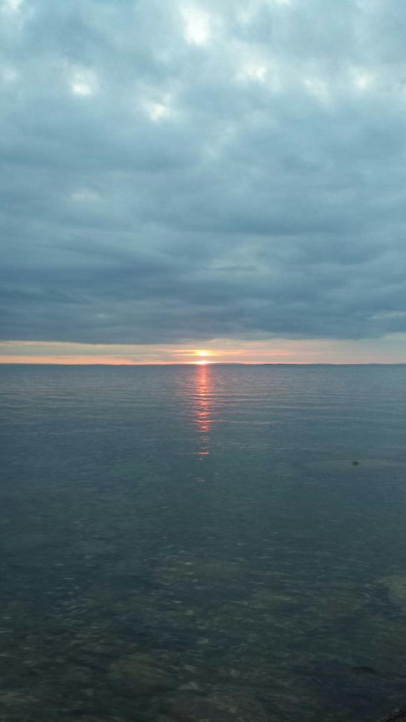 Kvällens solnedgång. 😊👍😍