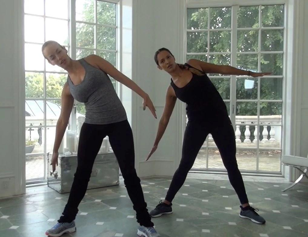 Efter fødsel træning med Camilla Malmberg & Saseline (barre)