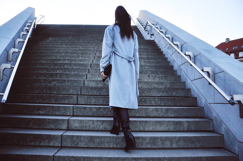 Grey coat zalando ilirida