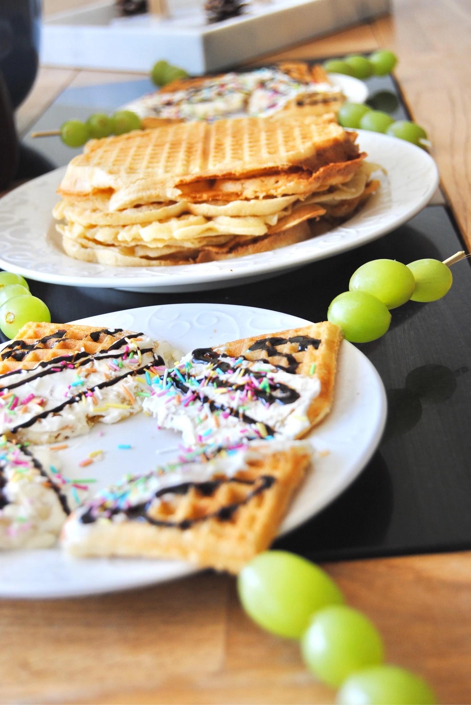 Funny waffles