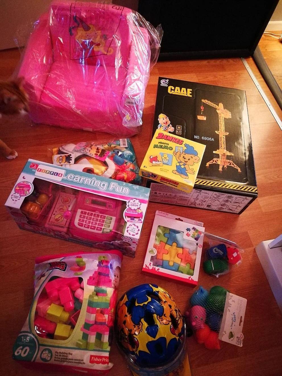 lite julklappar/födelsedagspresenter:)