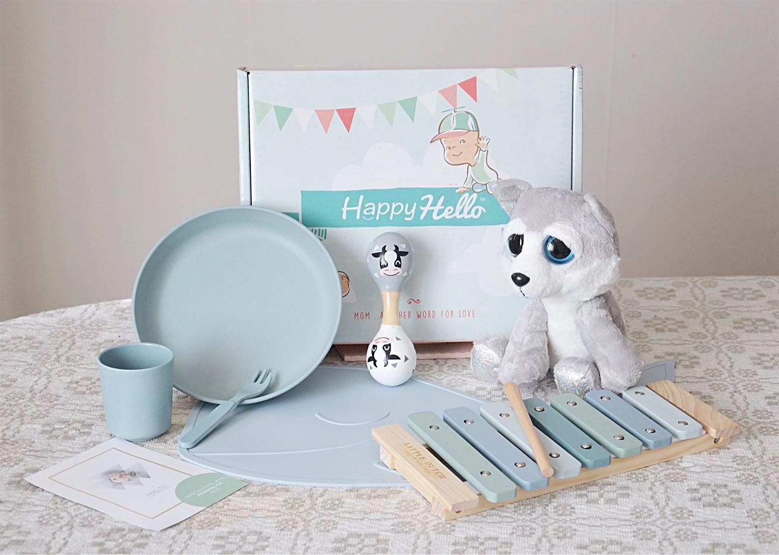 Prenumerationsbox för barn - Happy Hello!