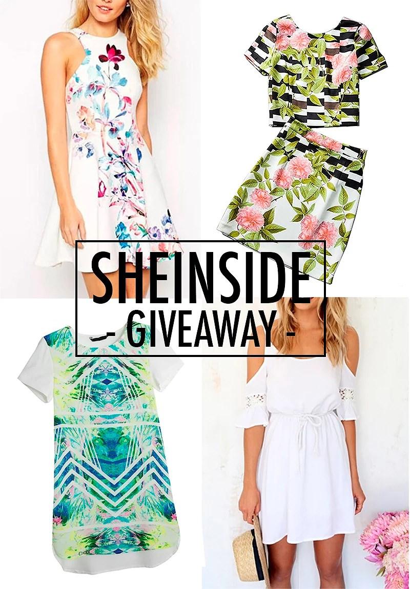 sheinside giveaway blogg