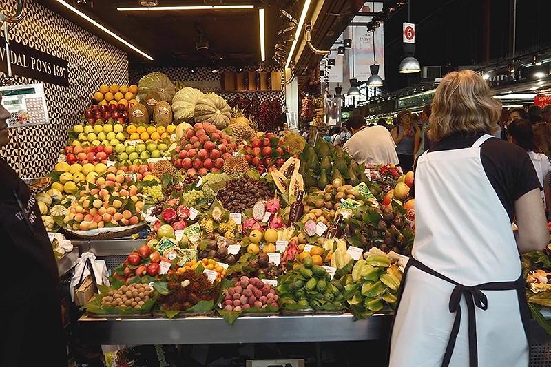 krist.in travel barcelona reisetips La Boqueria Market