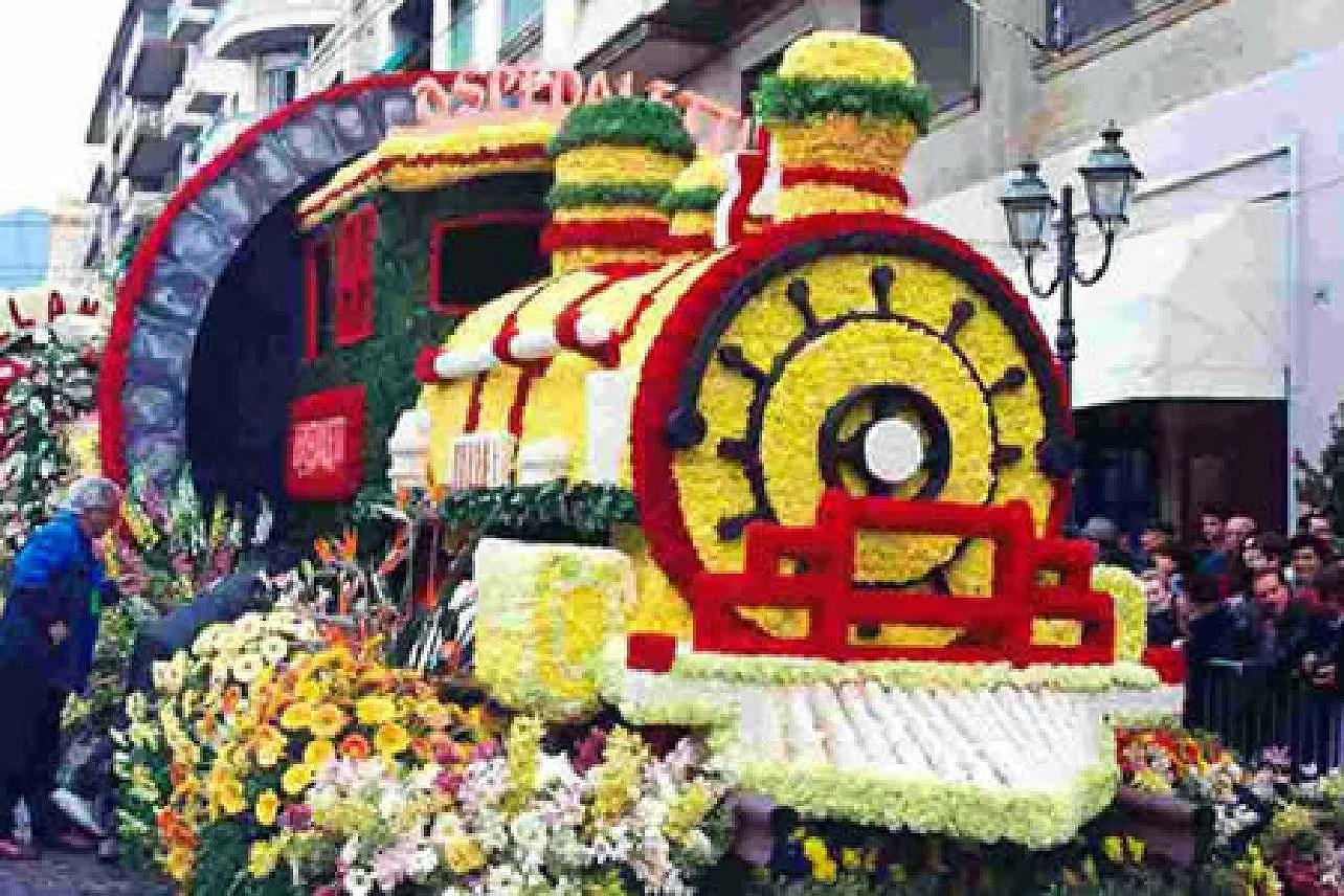 I fiori di Sanremo,  Sanremos blommor