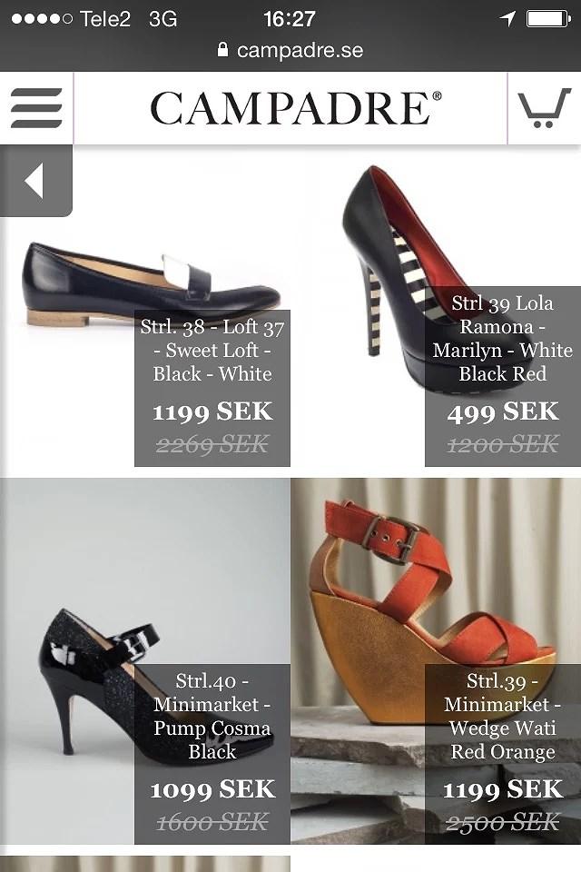Billiga skor och sandaler på Campadre   Enitalienareisverige.se