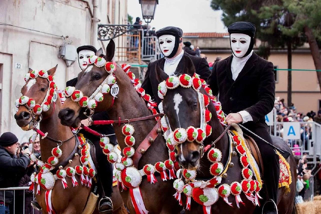 Carnevale in Sardegna, del 1 karneval i Sardinien