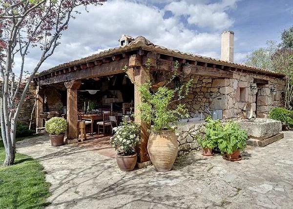 El encanto de una casa rústica
