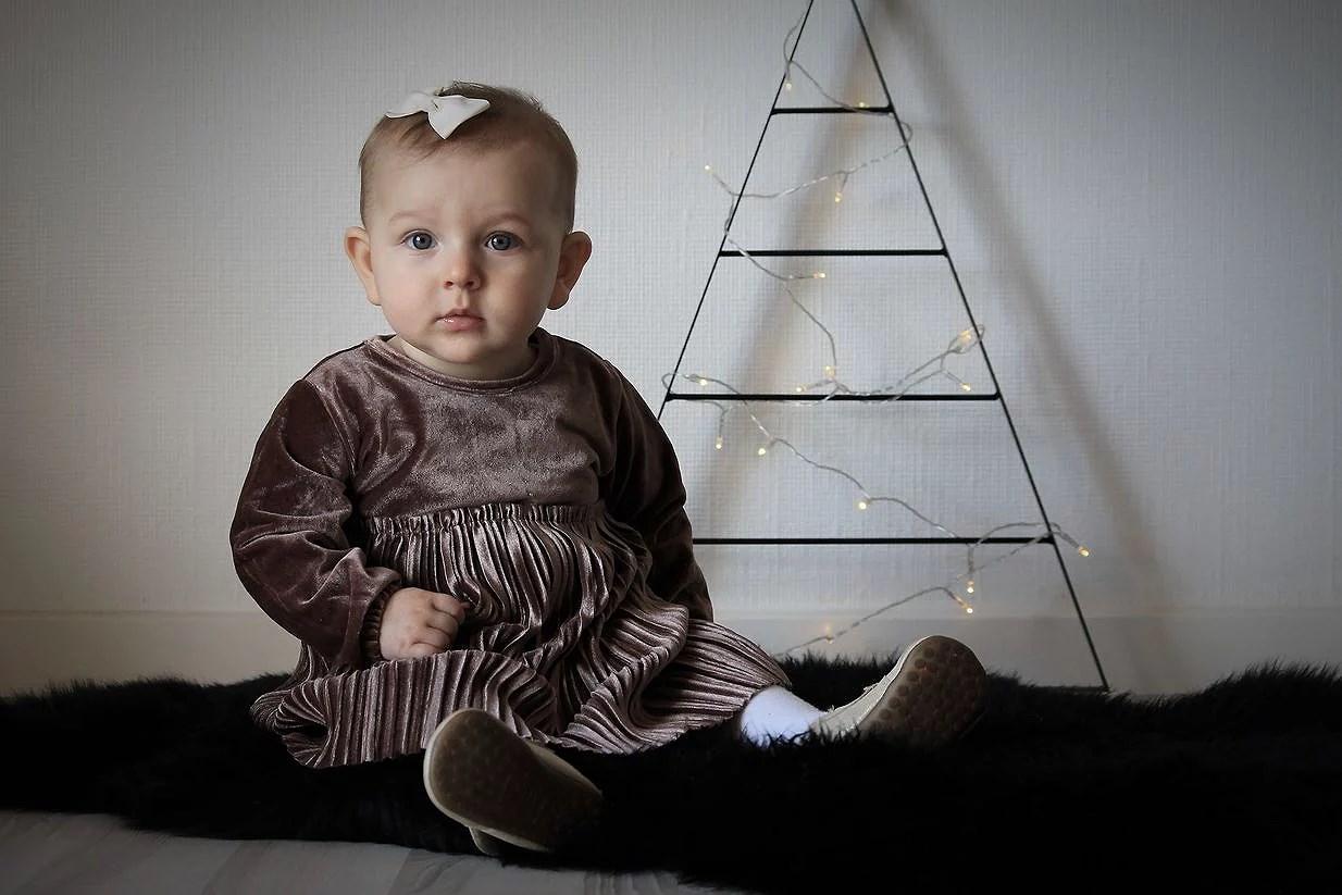 Julekjolen er i hus