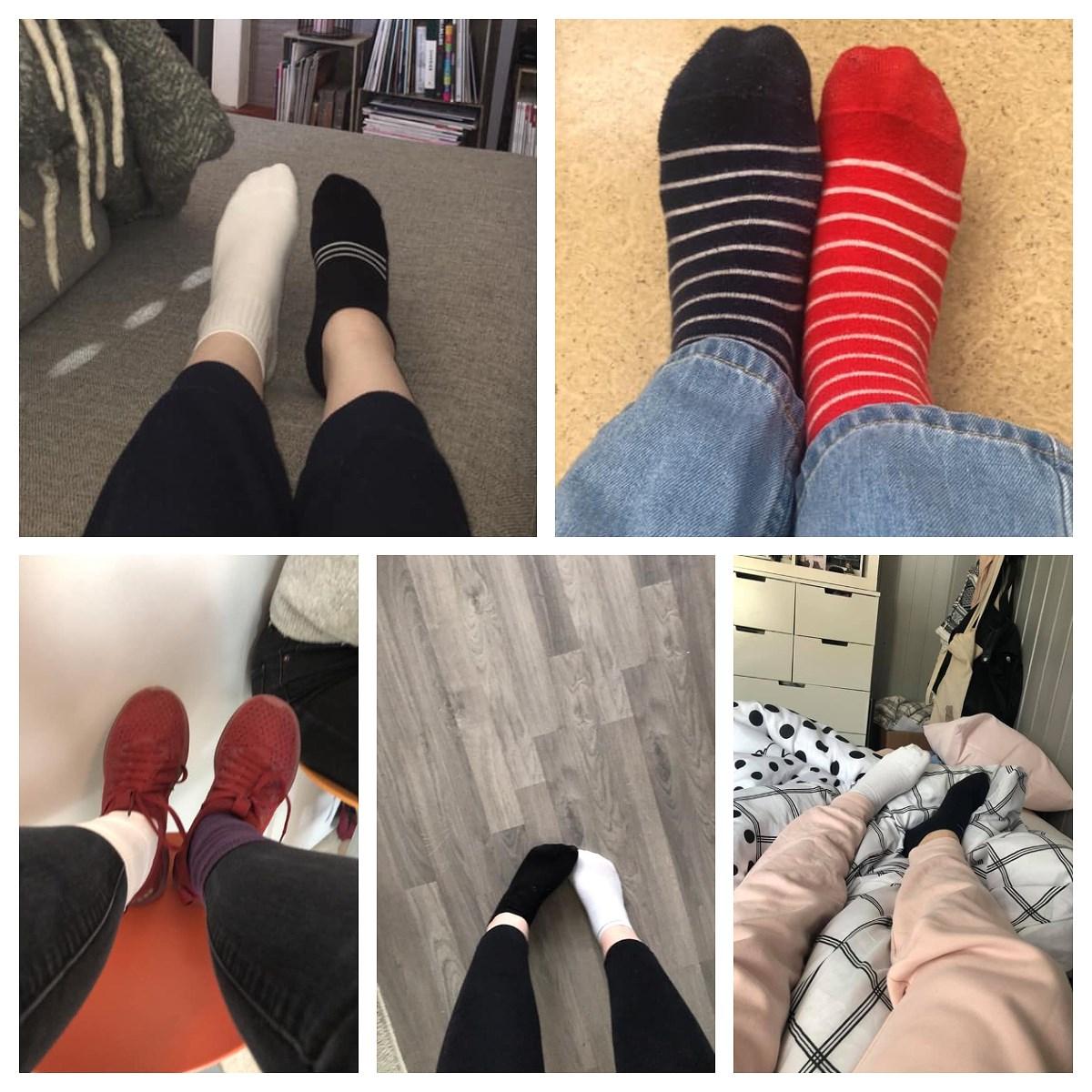 La oss rocke sokkene!