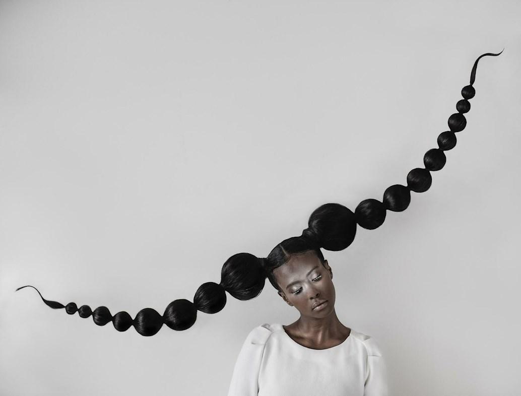 inner child dream makeup bubble braids