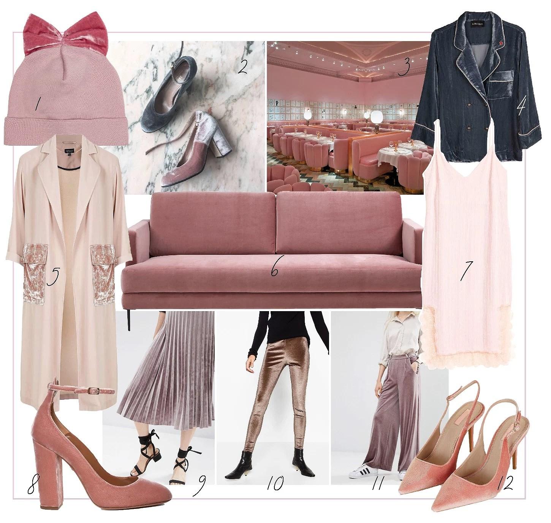 Pink Velvet Wanties