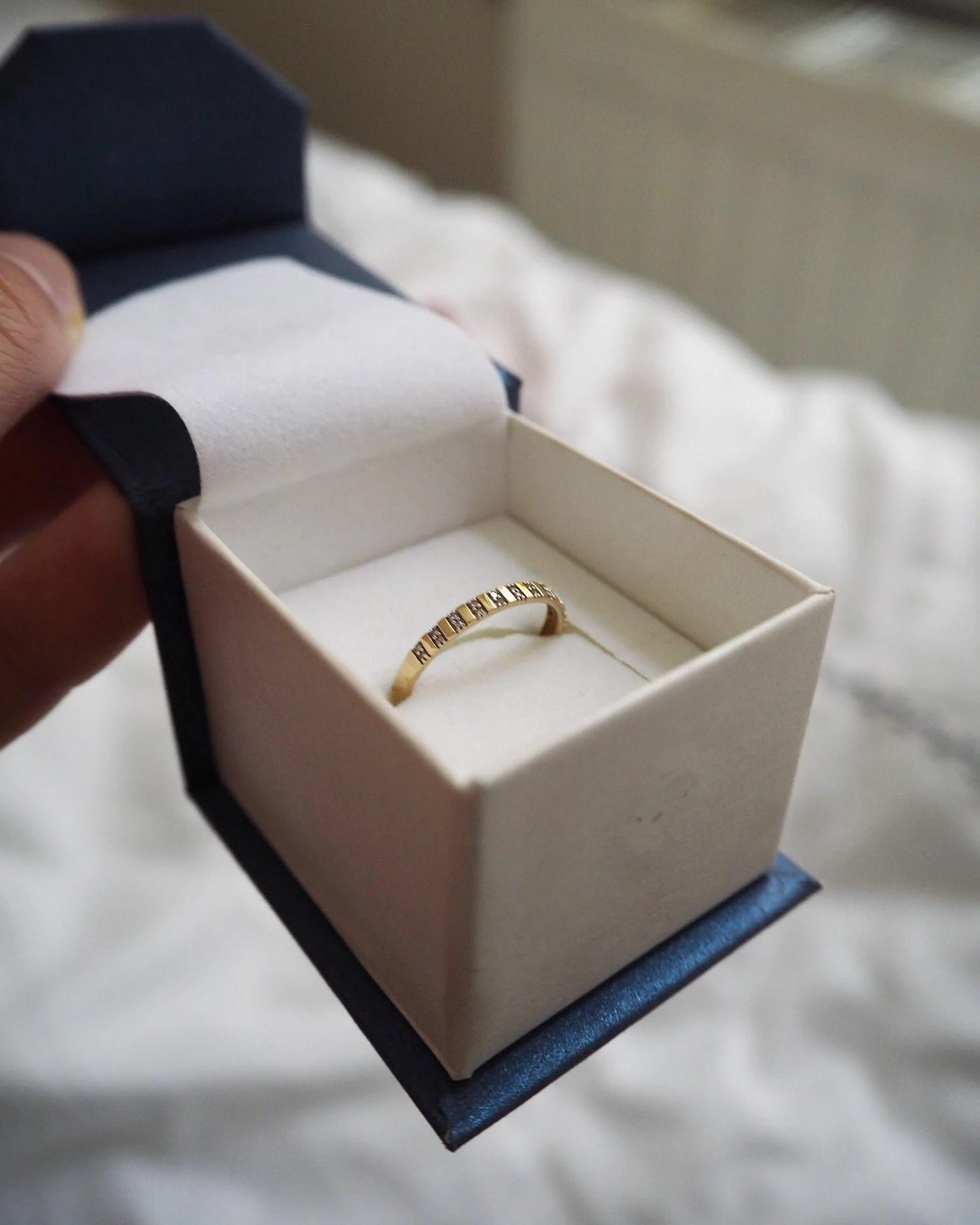 En guldring på posten