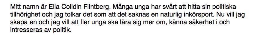 Sveriges partiledare.