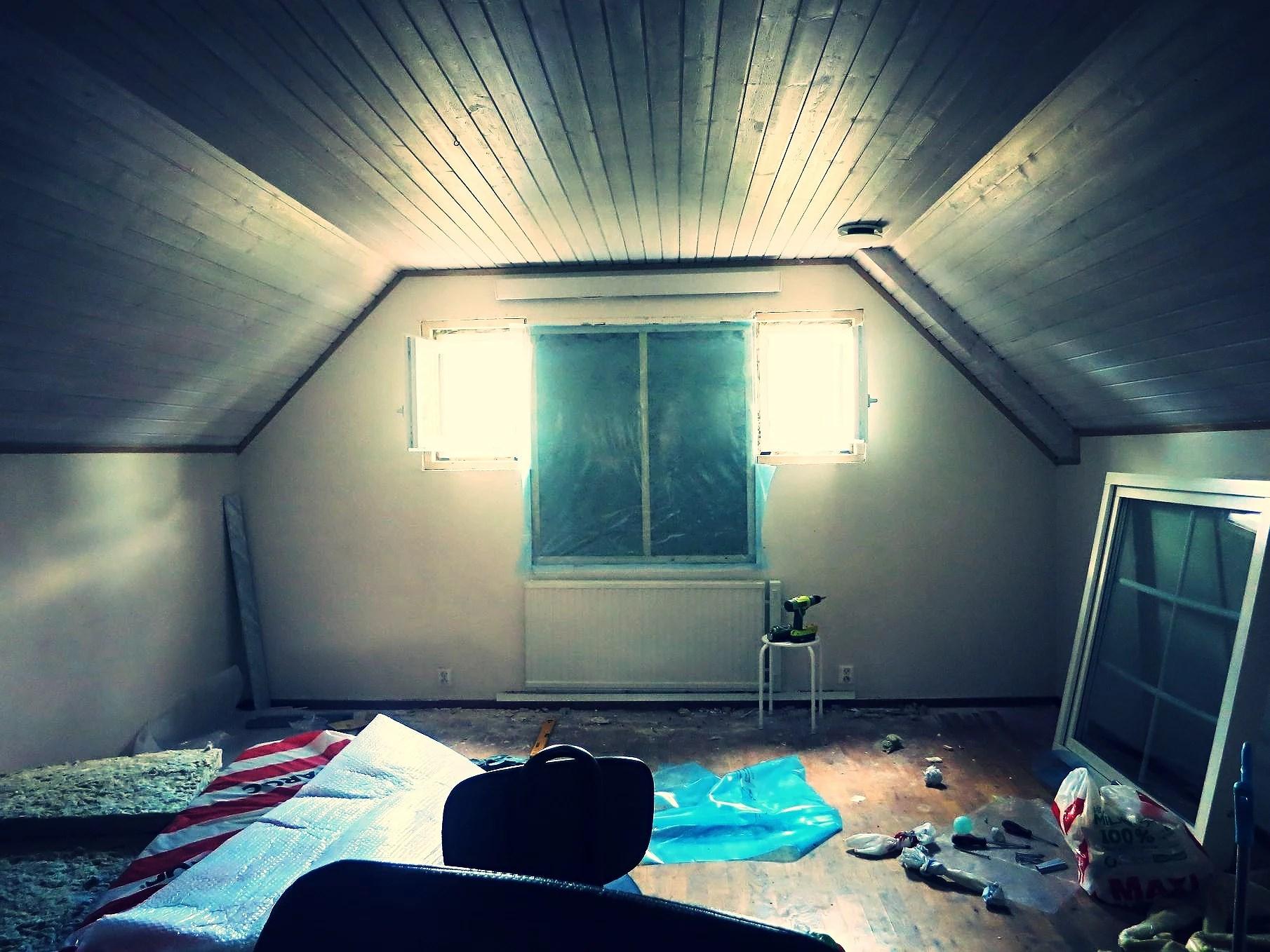 Att måla tak