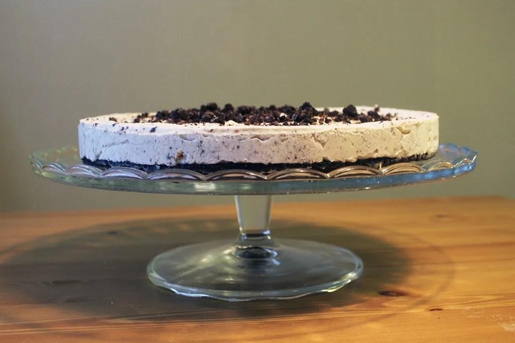 Glutenfri oreo cheesecake