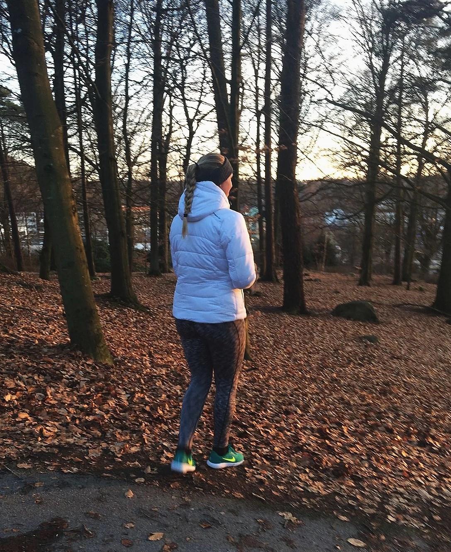 En promenad i stan.