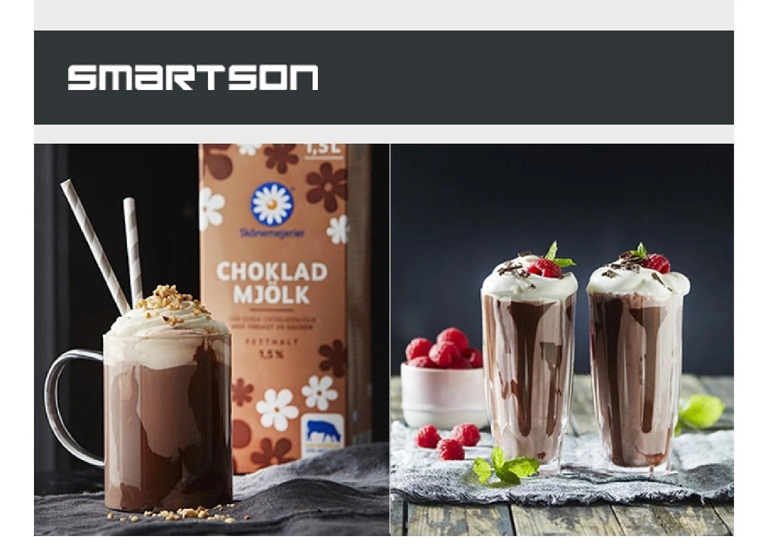 Här ska testas chokladmjölk 😋