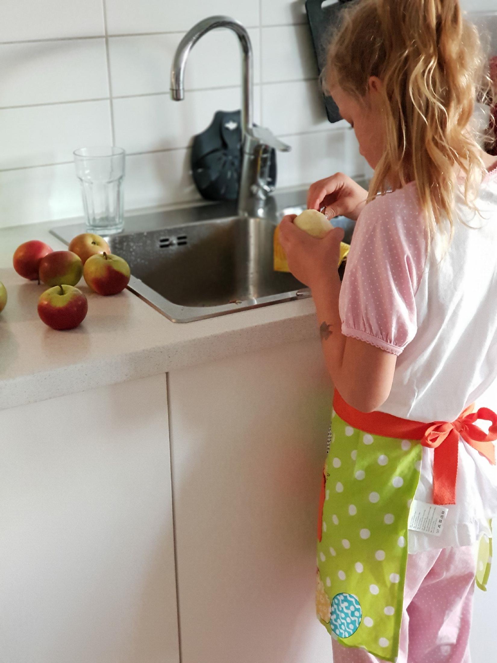 knäckig äppelpaj
